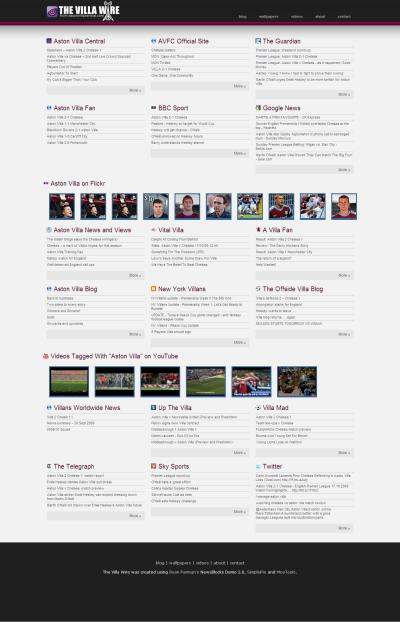 Click to visit The Villa Wire from Aston Villa Central