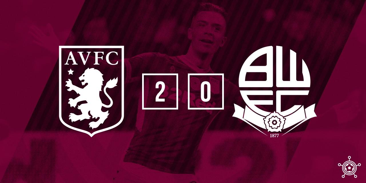 Bolton 0-2 Aston Villa Match Highlight
